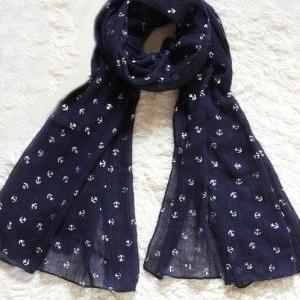 Little Anchors Infinity Scarf