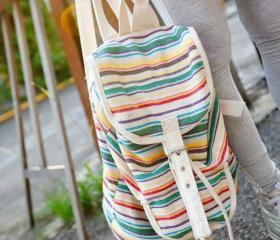 Colorful Stripe Back..