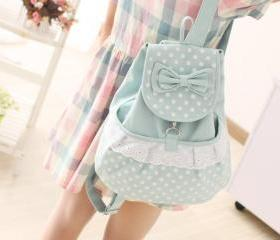 Canvas Lace Backpack..
